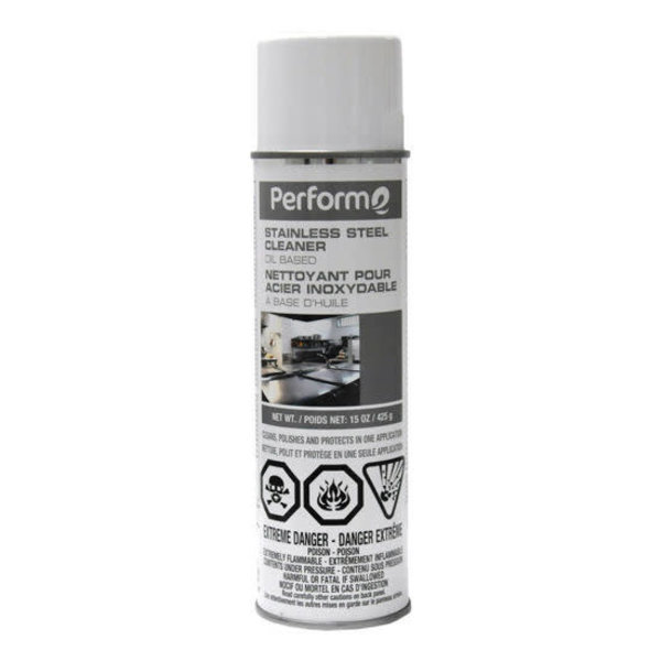 STAINLESS STEEL CLEANER - 15 oz. de Sany