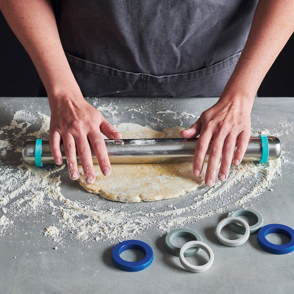 Ricardo Stainless Steel Adjustable Rolling Pin