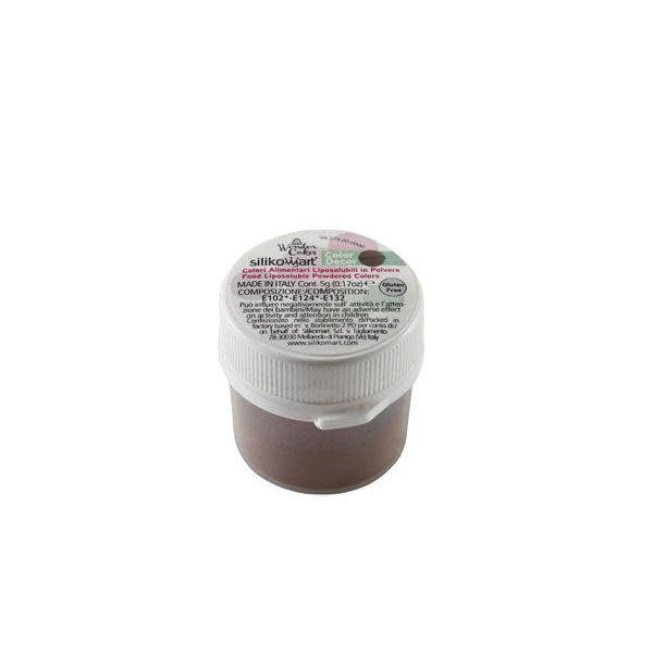 Silikomart Food Coloring Powder 5gr, Brown