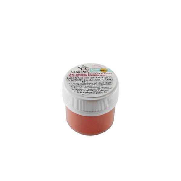 Colorant Alimentaire en Poudre 5gr Orange de Silikomart