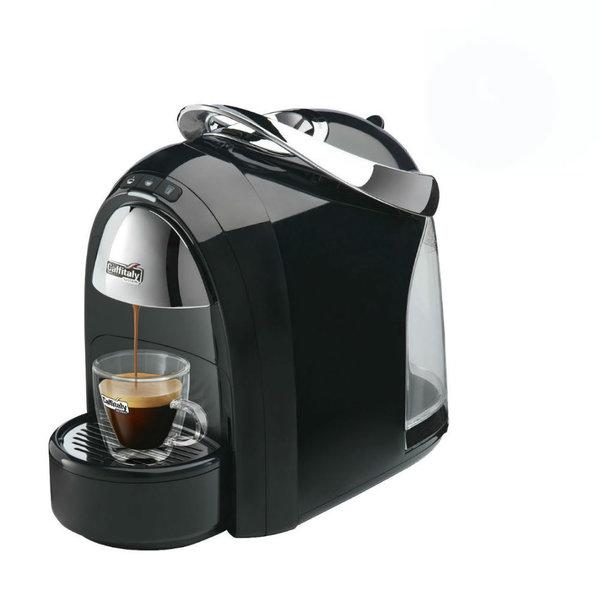 Machine à dosettes d'espresso S18 noir de Caffitaly