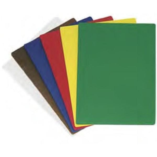 Planche a découpé en polyéthylène 30,5cm x 45,7cm / 12'' x 18'', Rouge, 1 pc de Johnson Rose
