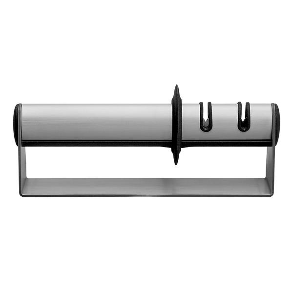 ZWILLING SHARPENER KNIFE SHARPENER, 19 CM   SILVER   STAINLESS STEEL
