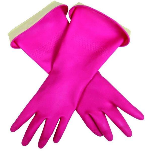 Gants en latex rose moyen de Casabella