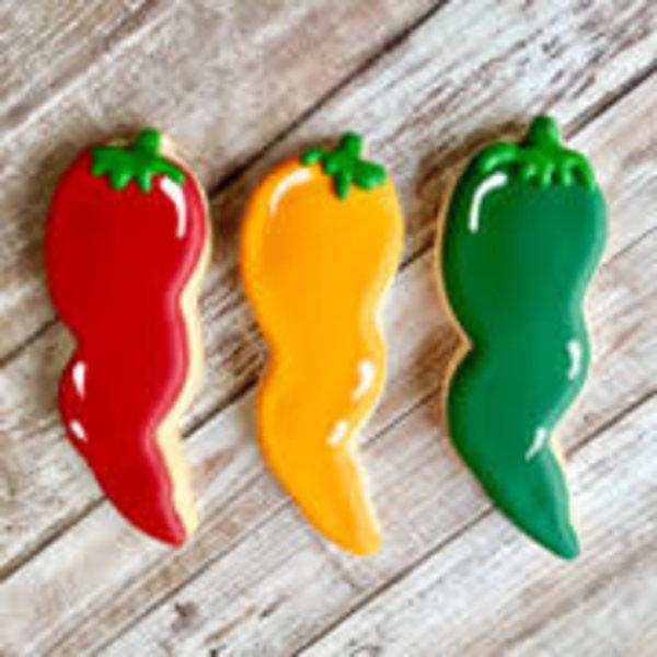 Ann Clark Cookie Cutter Hot Pepper 5''