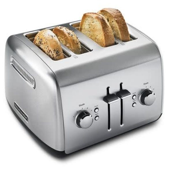 KitchenAid 4-Slice Toaster with Manual High-Lift Lever