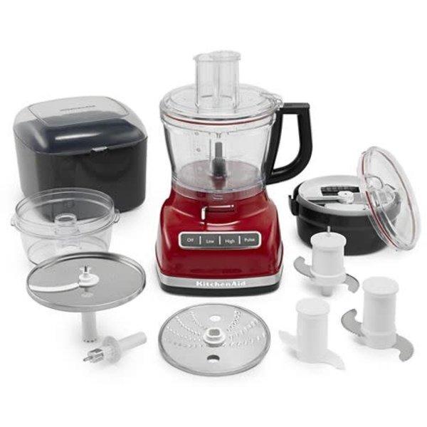 Robot culinaire 14 tasses rouge empire de KitchenAid
