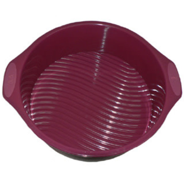 Vincent Sélection ROUND SILICONE CAKE MOLD - 8''