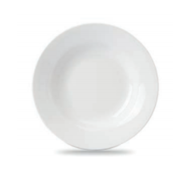"VITREX CROWN 9"" SOUP PLATE"