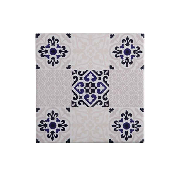 Maxwell & Williams Square ceramic trivet Medina Seville