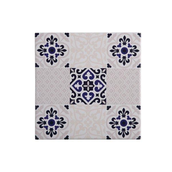 Sous-plat carré en céramique Medina Seville de Maxwell&Williams