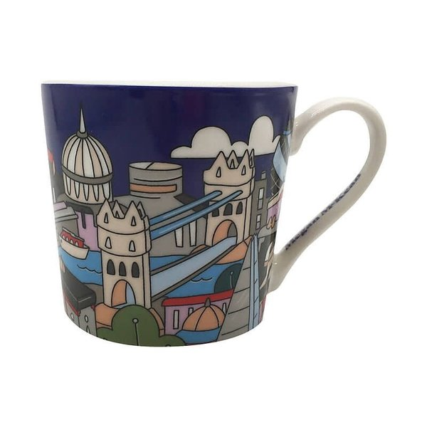 Maxwell&Williams Megan McKean Cities Mug 430ML London Gift Boxed