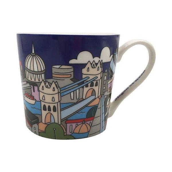 "Tasse en porcelaine ""London"" de Maxwell&Williams"