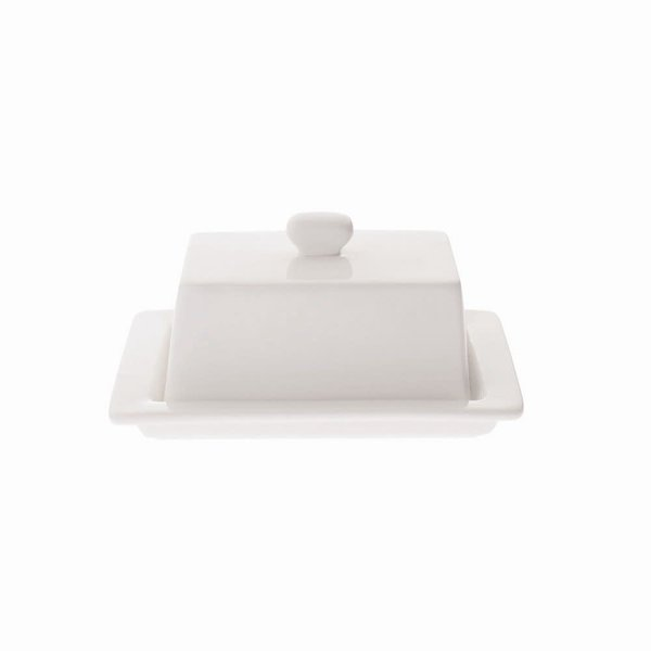 Maxwell&Williams White Square Butter Dish