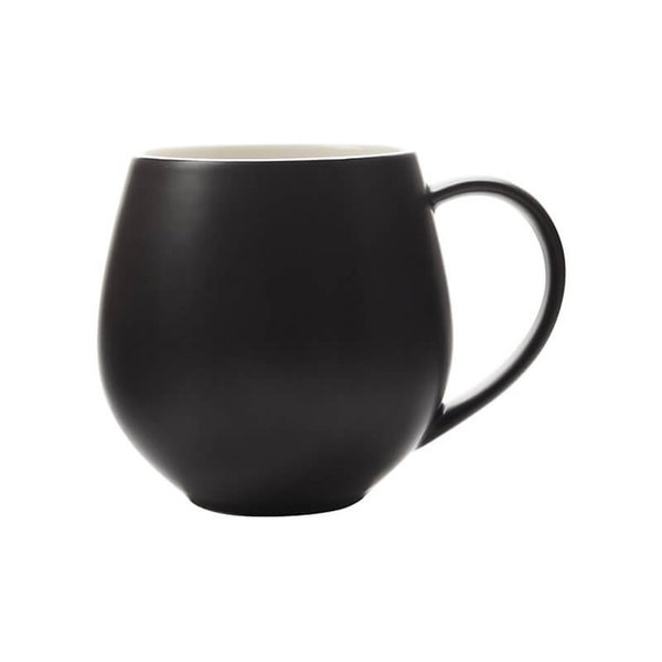 "Maxwell&Williams black mug ""Tint Snug"""