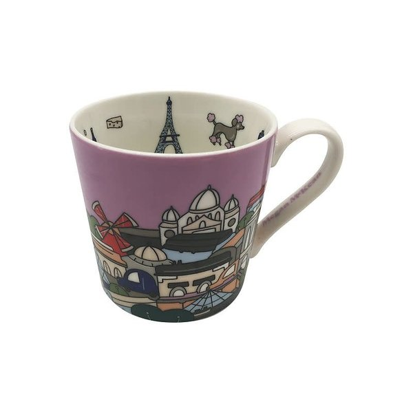 Maxwell&Williams Megan McKean Cities Mug 430ML Paris Gift Boxed