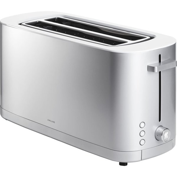 ZWILLING ENFINIGY 2 LONG SLOTS TOASTER - SILVER
