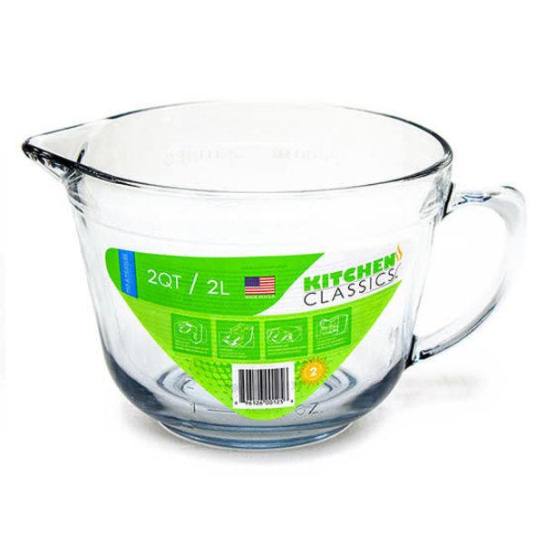 "Tasse à mesurer en verre 2 L ""Batter Bowl"" de Kitchen Essentials"