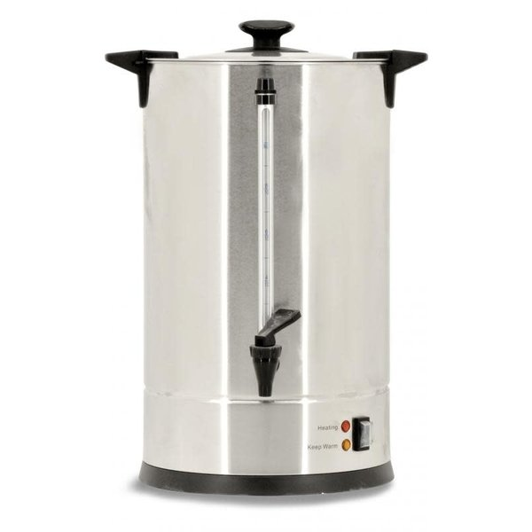 9.6L / 2.53 GALLON STAINLESS STEEL COFFEE PERCOLATOR – 65 CUPS PER HOUR