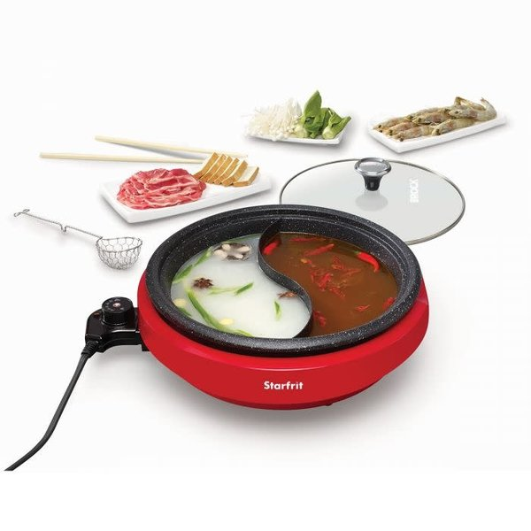 Starfrit Dual-Sided Electric Hot Pot