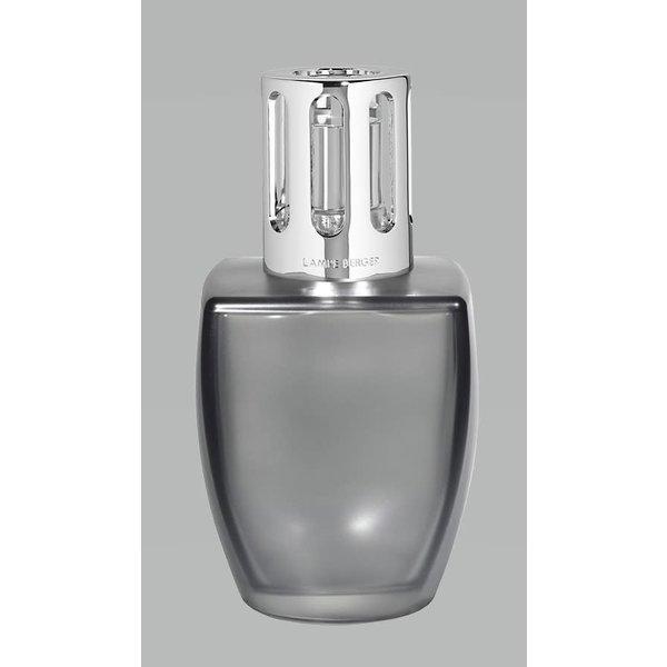 Lampe Berger June Grey Satin Lamp Gift Set - Aloe Vera Water