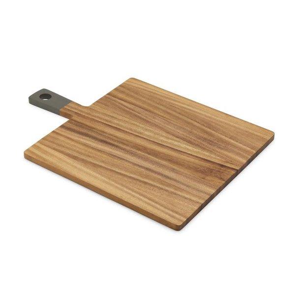 Planche à découper Square Dorset avec poignée grise de Ironwood