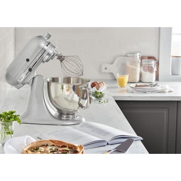 KitchenAid ARTISAN® SERIES 5-QUART TILT-HEAD STAND MIXER,  Metallic Chrome