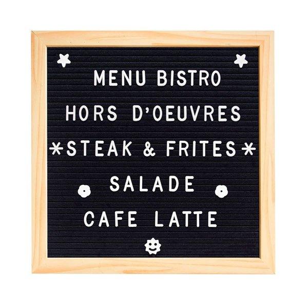 Tableau de message en feutre de Starfrit Gourmet Bistro