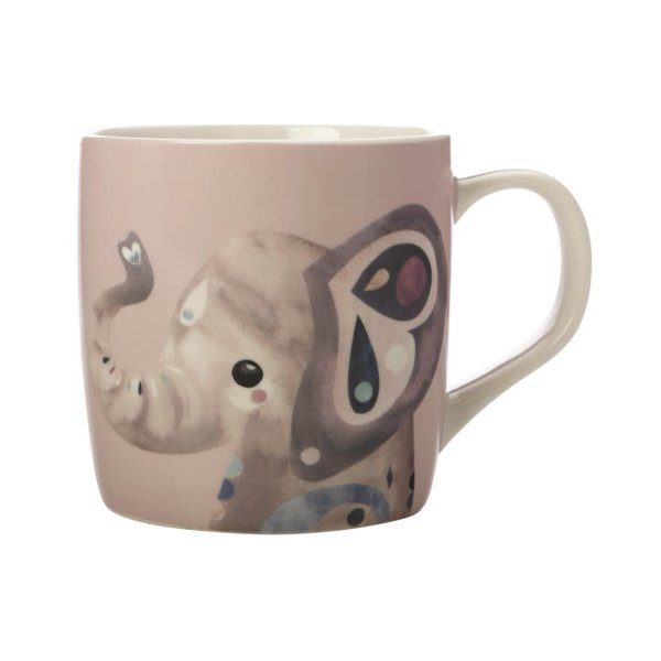Maxwell & Williams Pete Cromer Wildlife Elephant Mug