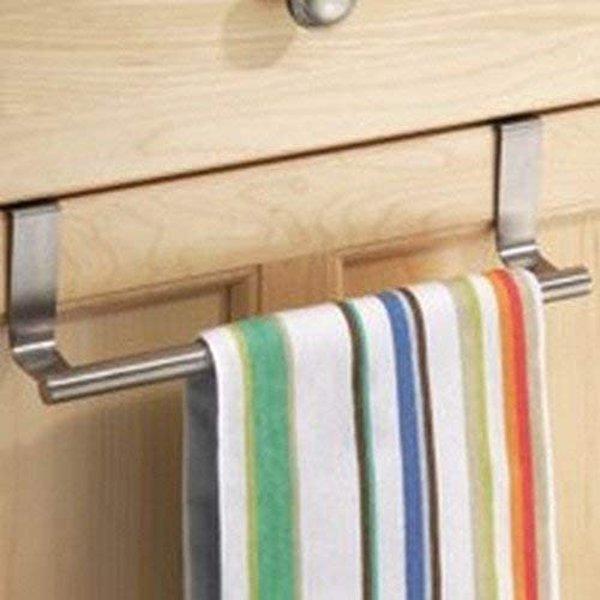 InterDesign Forma Over Cabinet Dish Towel Bar