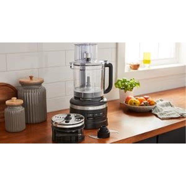 KitchenAid 13-Cup Food Processor with Dicing Kit Mat Black