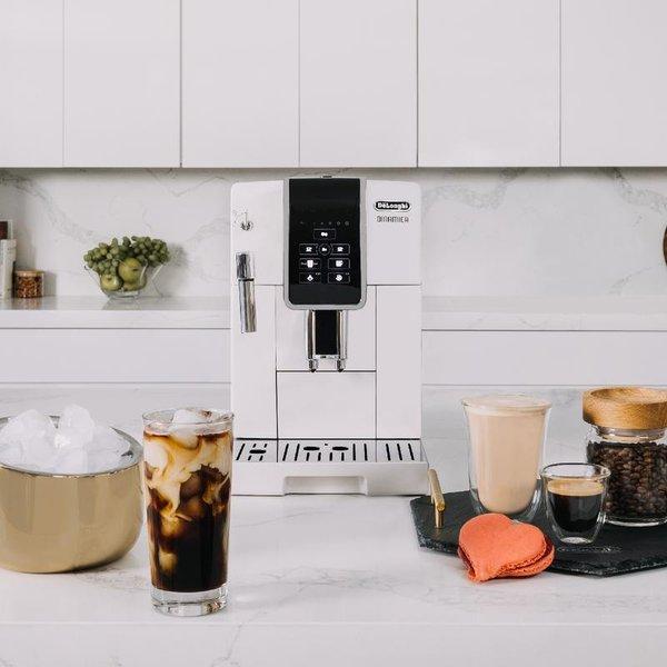 De'Longhi Dinamica Automatic Coffee & Espresso Machine, White