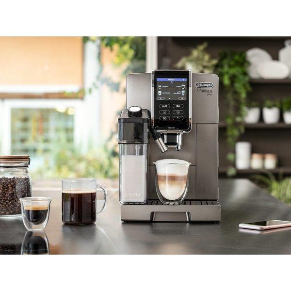 Delonghi Dinamica Plus Machine à espresso automatique intelligente avec mousseur