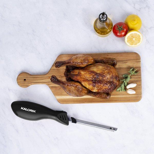 Kalorik Cordless Electric Knife with Fish Fillet Blade