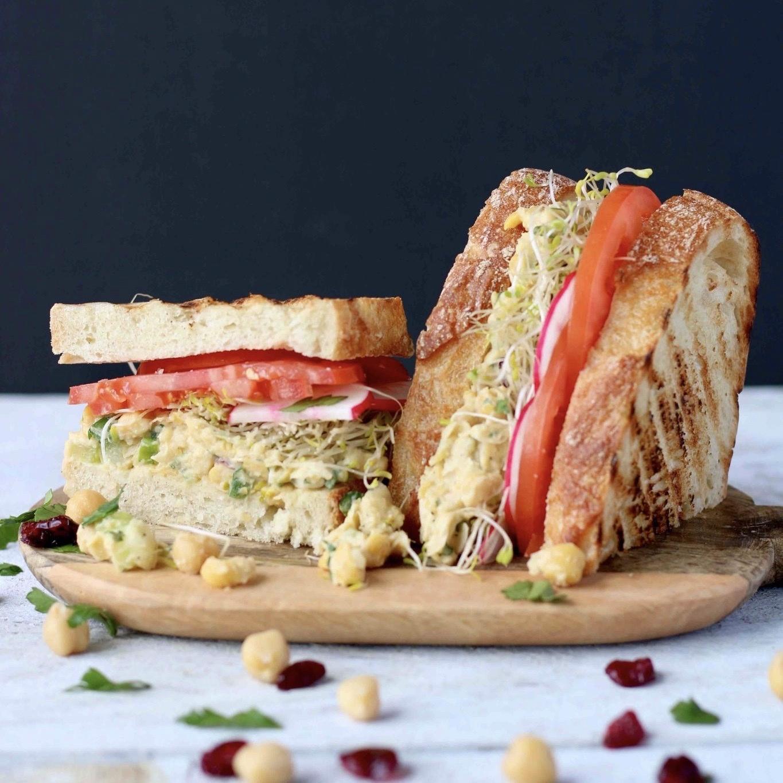 Recette de la semaine: Sandwich à la Salade de Pois Chiches