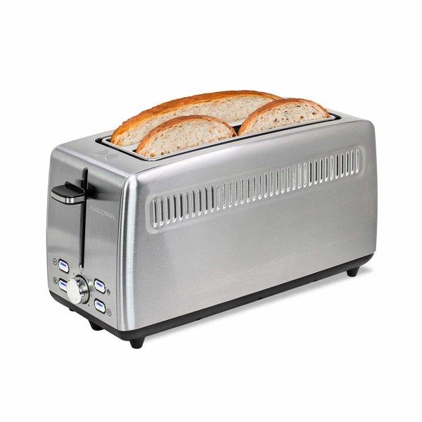 Kalorik 4 Slice Long-Slot Toaster