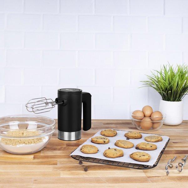 Kalorik Cordless Electric Hand Mixer Black