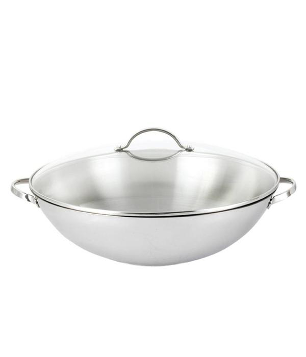 Orly Cuisine Josef Strauss Tango Wok with Glass Lid 38 cm