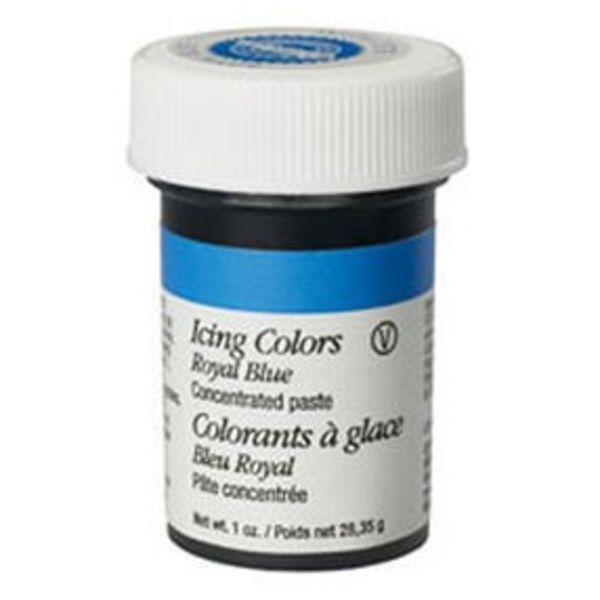 Colorant à glaçage bleu royal de Wilton