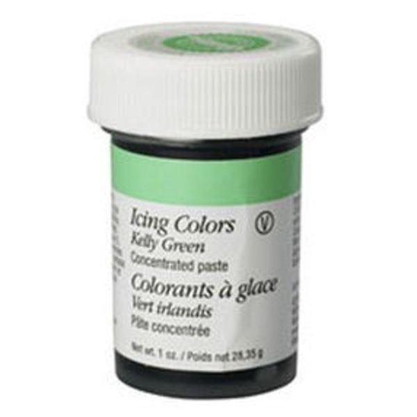 Colorant à glaçage vert irlandais de Wilton