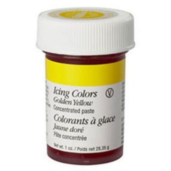 Wilton Golden Yellow Icing Colour
