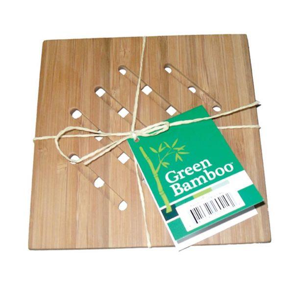 Green Bamboo Trivet