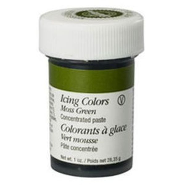 Colorant à glaçage vert mousse de Wilton