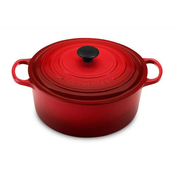 Le Creuset 6.7L Round French Oven Cherry