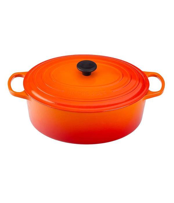 Cocotte ovale 8,9 L Le Creuset Flamme - Ares Accessoires de cuisine 4ed4bda7c50f