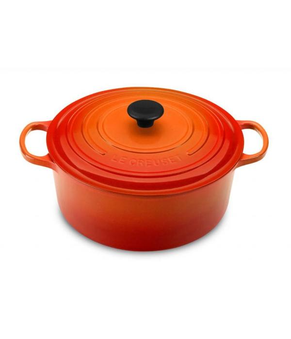 Le Creuset 5.3L Round French Oven Flame