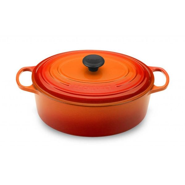 Le Creuset 4.7L Oval French Oven Flame