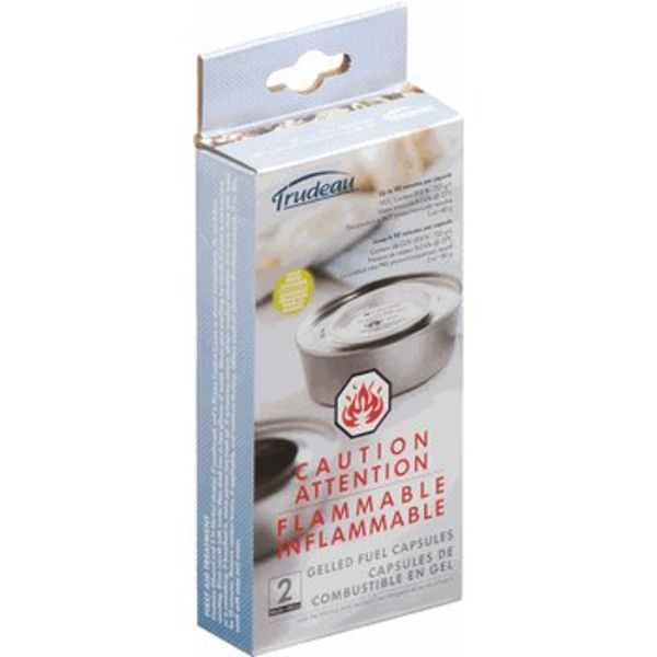 Trudeau Set of 2 Fondue Gelled Fuel