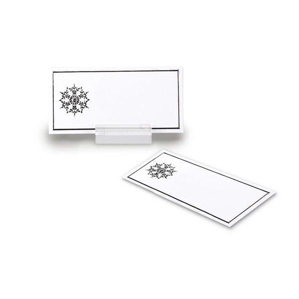 Abbott Snowflake Placecards