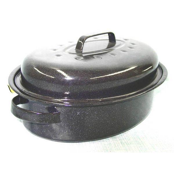 Rôtissoire émaillé oval de Henle Pro